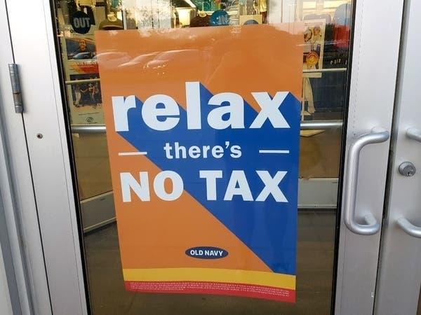 tax free clothing