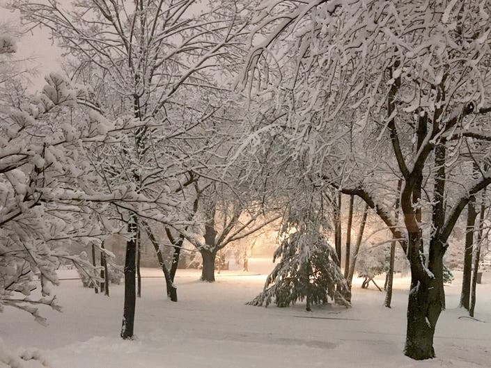 Farmers' Almanac: 'Frosty And Wet' Maryland Winter Forecast