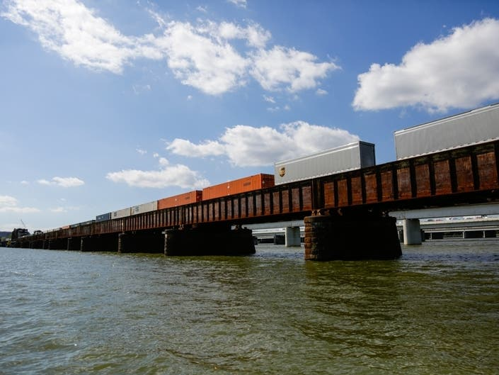 Railroad Span Over Potomac From DC To Arlington Faces Overhaul