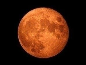 Look For Orange Hunters Moon Over Northern Virginia, DC