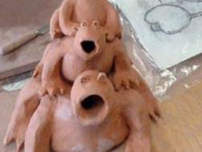 Ridge High School Ceramic Art Exhibit at the EEC