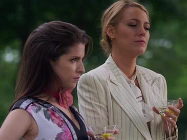 """Anna Kendrick (left) and Blake Lively in """"A Simple Favor."""""""