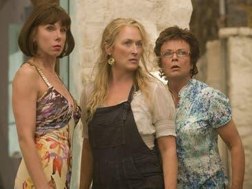 "Christine Baranski (left), Meryl Streep and Julie Walters appear in ""Mamma Mia!"""