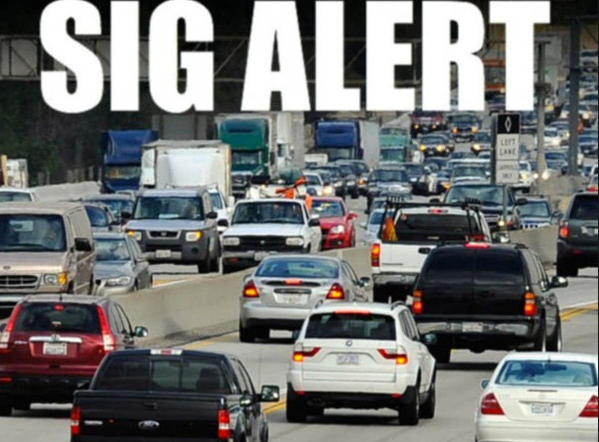 5 Big Rig Pile-Up Triggers 605 SigAlert | Los Angeles, CA Patch
