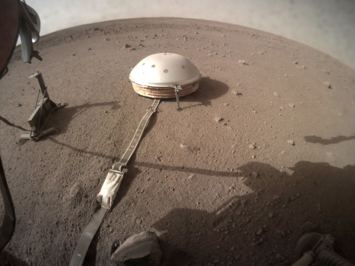 Marsquake Rattles Red Planet, NASA Lander Captures The Shaking