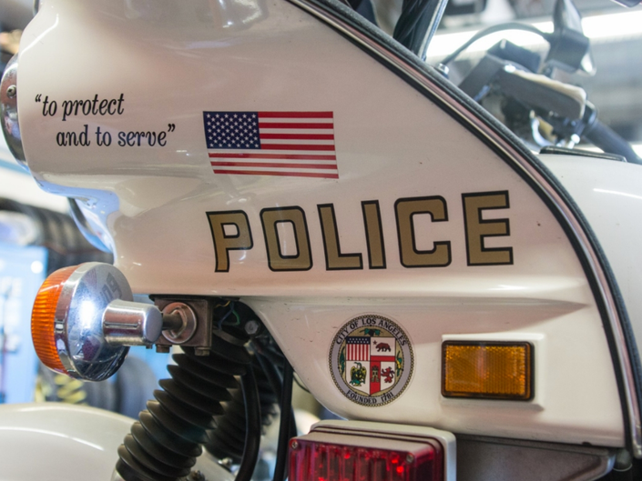 Cyclist And LAPD Officer Hurt In Burbank Boulevard Crash