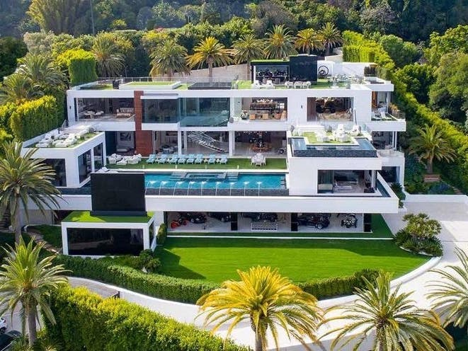 Largest House Listed In LA Boasts Largest Price Drop