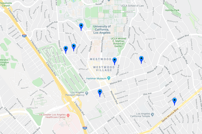 15 Offenders In Westwood-Century City Halloween Safety ... on