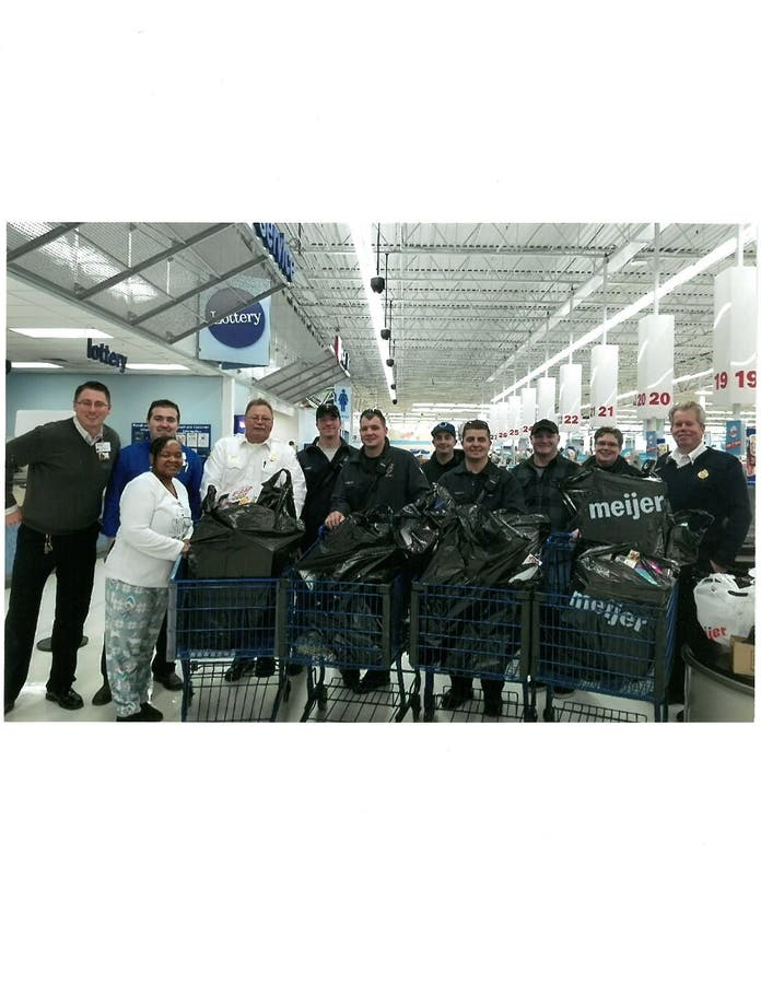 Meijer Donation Helps Plainfield Fire Dept Support Toys For