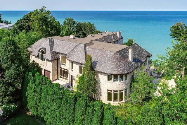 Illinois Most Expensive Homes For Sale Winnetka Il Patch