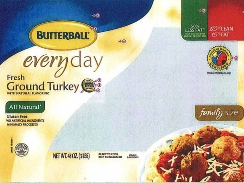 Salmonella Outbreak Prompts IL Ground Turkey Recall | PatchPM