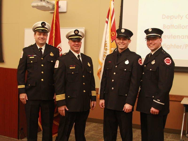 Plainfield Fire Protection District Announces Promotions