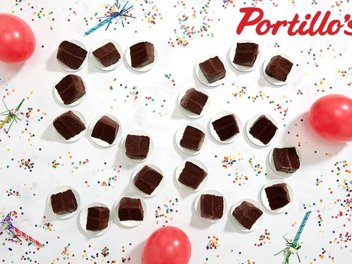 Get 56-Cent Cake Slices For Portillos Birthday