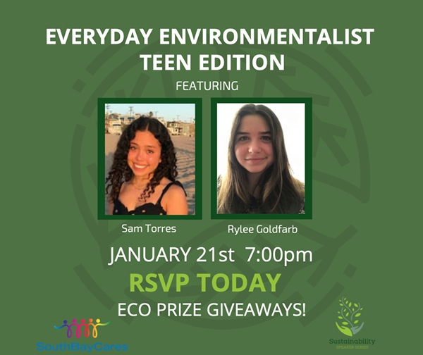 Manhattan Beach Teen Offers Simple Steps To Combat Climate Change - Patch.com