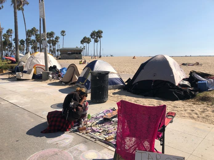 Project Homekey will provide permanent housing for homeless people in Los Angeles County.