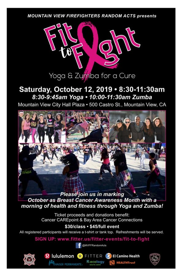 Fit to Fight -Yoga & Zumba for a Cure for Breast Cancer