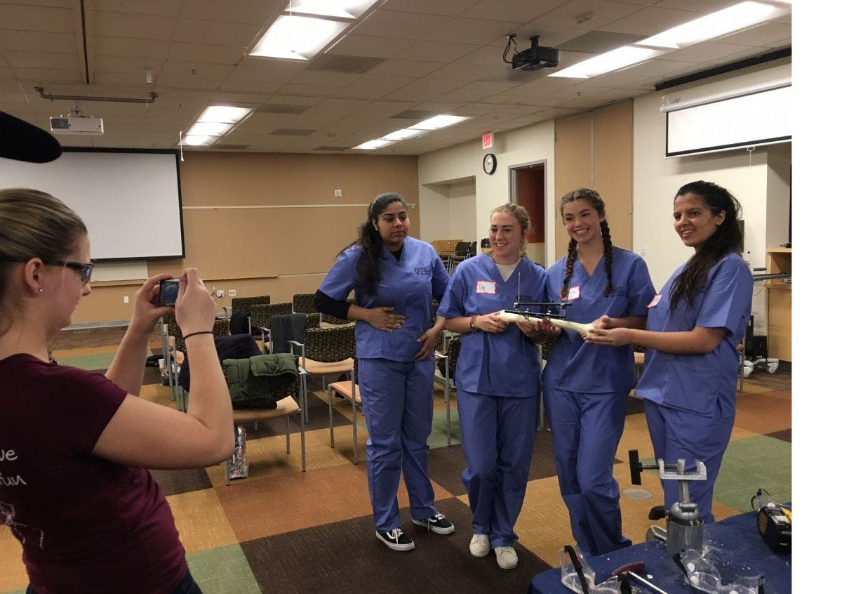Pigs Feet and Power Tools: Young women experience ortho