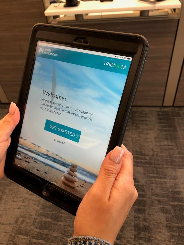 Kaiser Permanente adds tech to mental health care in San ...