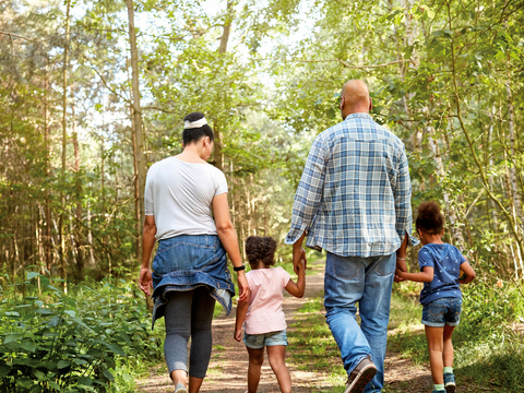 A family hike might be helpful to ease issues: Kaiser Permanente
