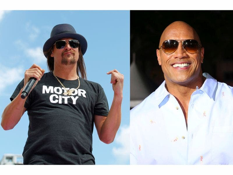 Kid Rock Tour Schedule 2020 Kid Rock Vs. The Rock, 2020 Presidential Race We Want To See
