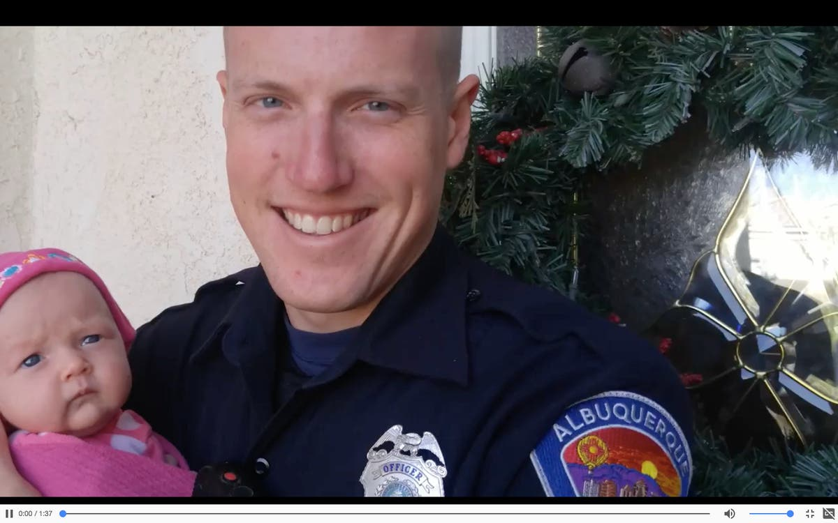 Cop And Wife Who Adopted Heroin Addict S Baby Guests At