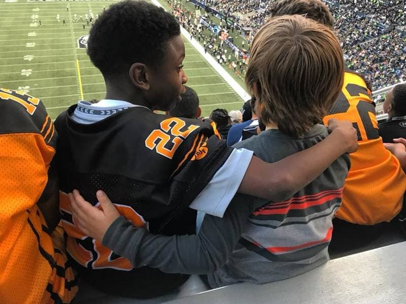 72c60d0c Boy's Kindness To Another At Seahawks Game Inspires The World | Seattle, WA  Patch