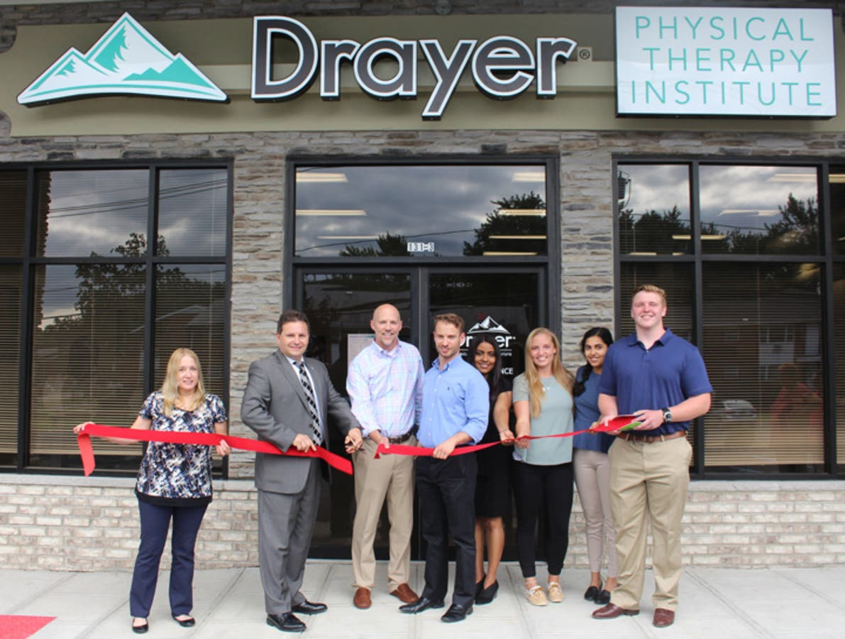 Drayer Physical Therapy Holds Ribbon Cutting Ceremony And Open House Parsippany Nj Patch