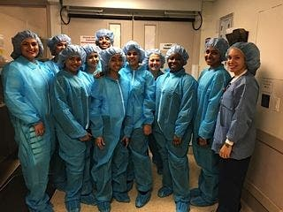Students from Richmond Hill High School Meet with Northwell