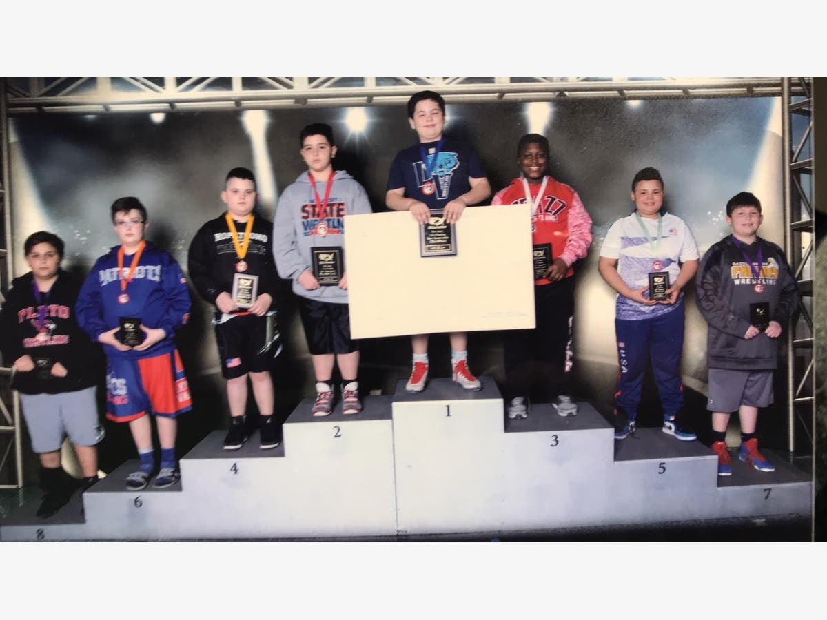 Borgia and Long Valley Wrestling Shine at State