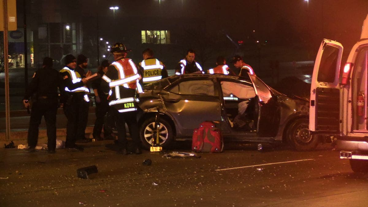 Driver Injured in Early Morning Rollover Accident on LaGrange Road