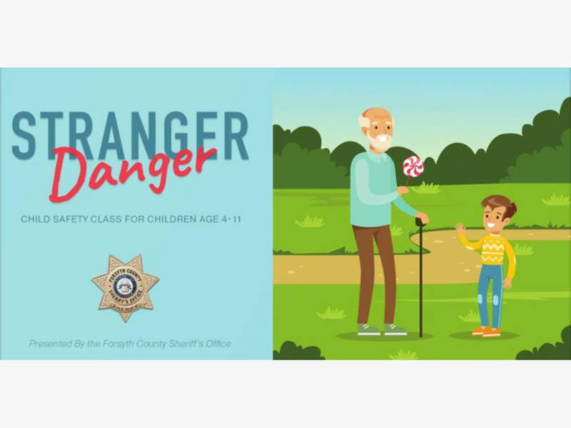 Free Stranger Danger Class Offered By Sheriff's Office