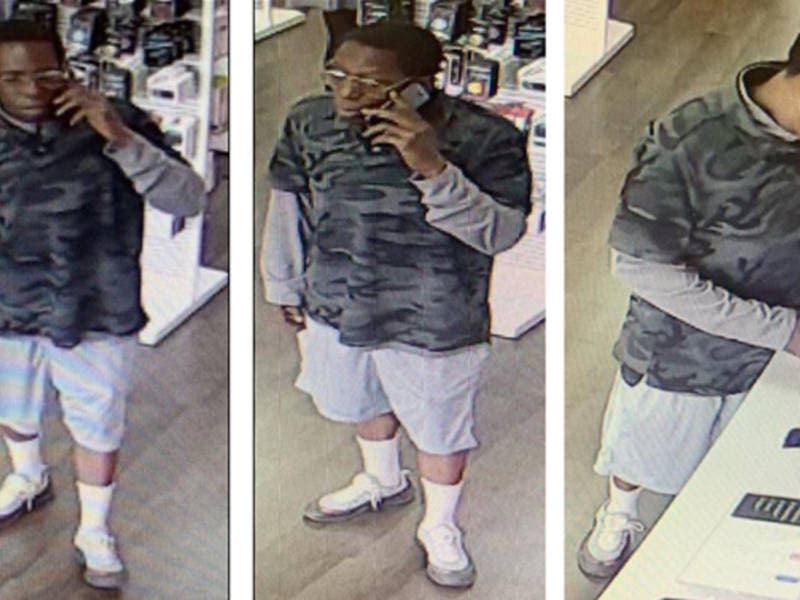 Man Steals Over $4,800 of iPhones In Two Incidents At Same Store