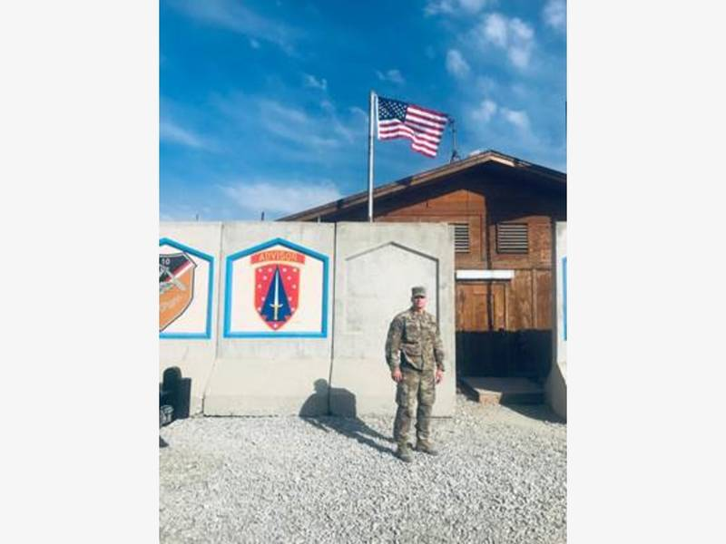 Afghanistan-Deployed County Employee Sends Gifts Back Home