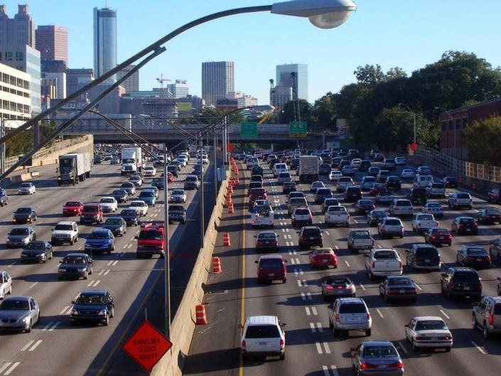 Heres An Update If Youre Driving This Weekend Around Atlanta