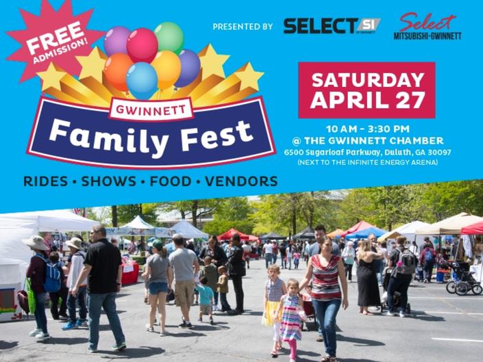 Gwinnett Chamber Hosts Gwinnett Family Fest This Weekend
