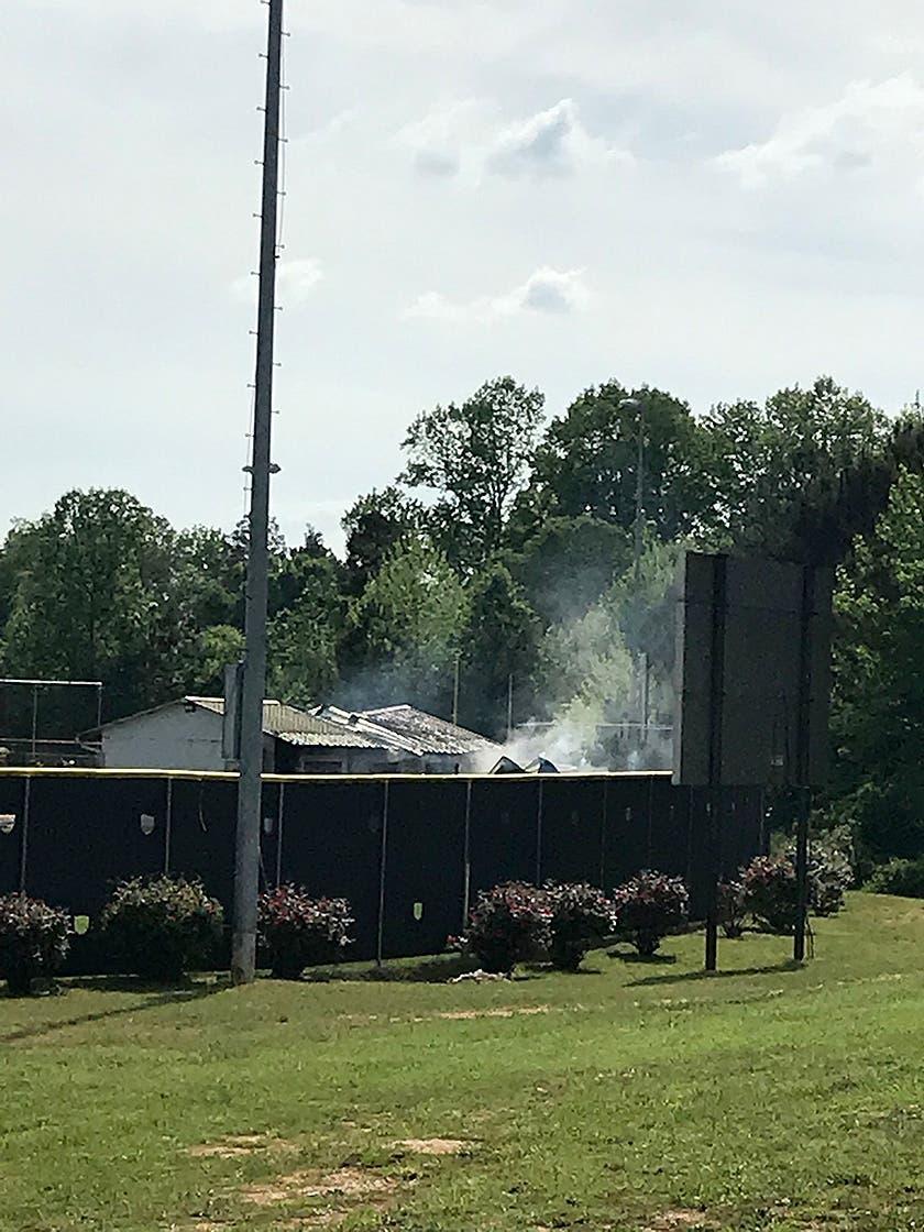 Worker Burned In South Paulding Baseball Team's Building