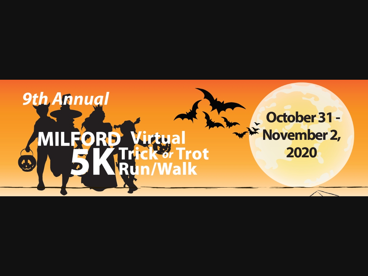 Events In Milfird De For Halloween 2020 9th Annual Milford Trick or Trot 5K Run/Walk is Virtual | Milford