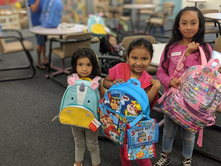 Credit Union Backpack Drive Helps 400+ Alameda County Students