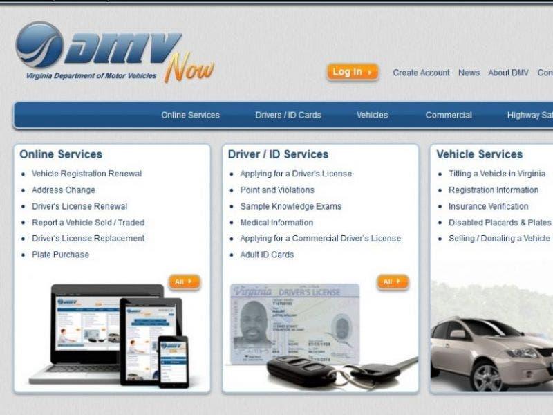 Virginia DMV Website Now Shows Estimated Wait Time For Services