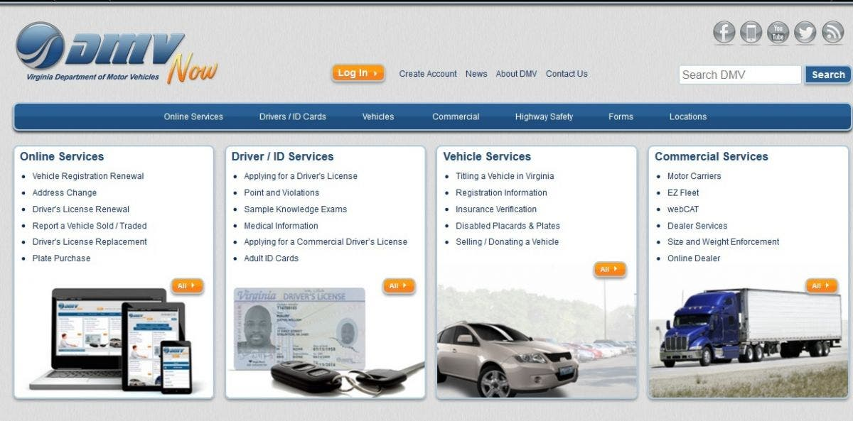 Virginia Dmv Website Now Shows Estimated Wait Time For Services Old Town Alexandria Va Patch