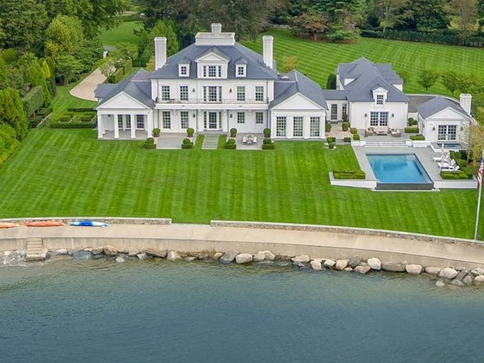 $16.5 Million Southport Mansion Has Private Beach And Pool
