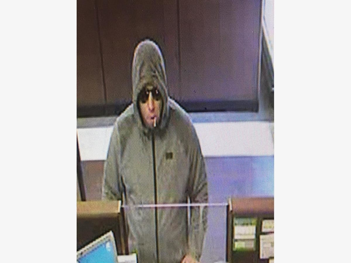Stafford Police Say Chase Bank Robbery Suspect Still At
