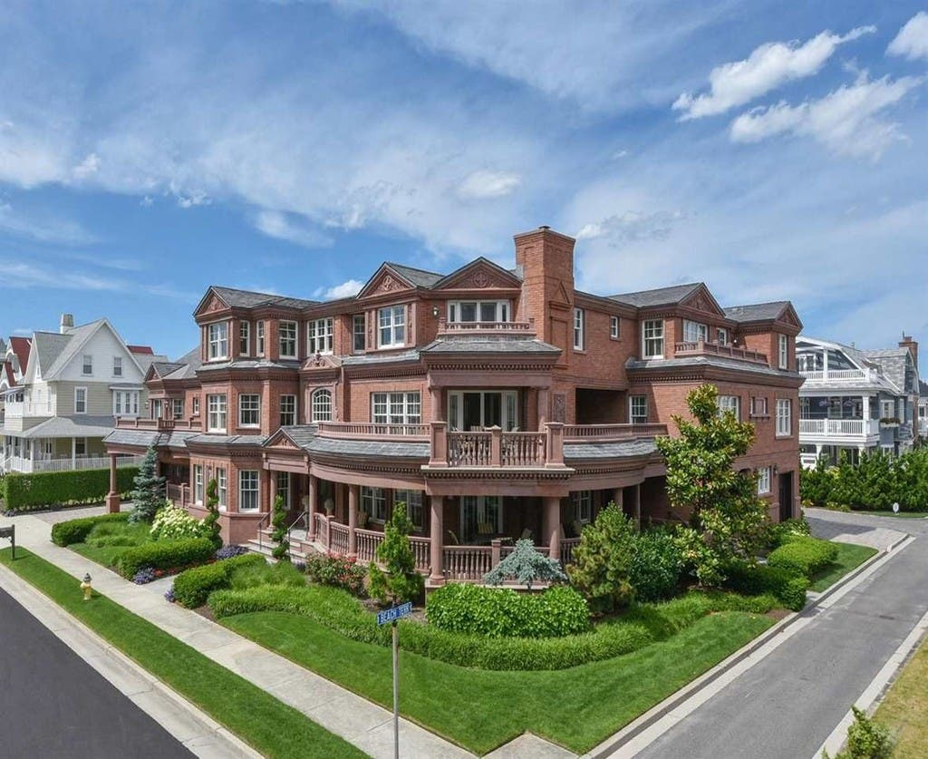 Astounding Longport Estate With 11 000 Square Feet Listed For Download Free Architecture Designs Jebrpmadebymaigaardcom