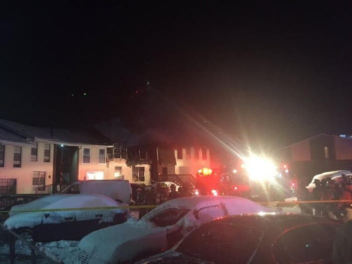 Apartment Fire Leaves 50 Residents Without A Home In Gloucester Township Police