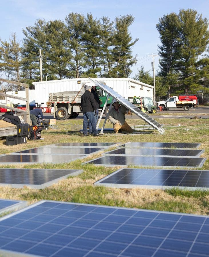 2 Sets Of Solar Energy Students To Graduate From Rowan