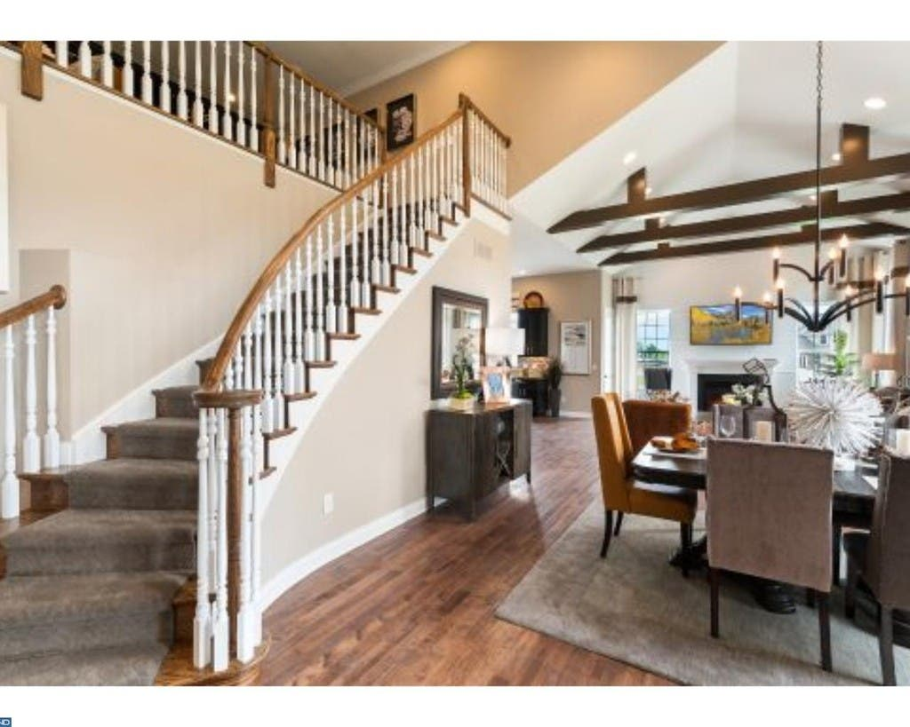 Luxurious Moorestown Townhouse Comes With 2 Story Dining Room 0