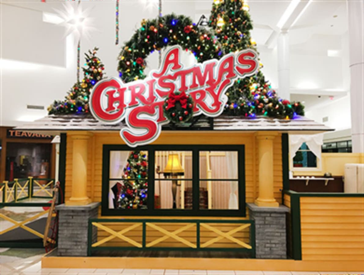 Become Part Of 'A Christmas Story' At The Cherry Hill Mall