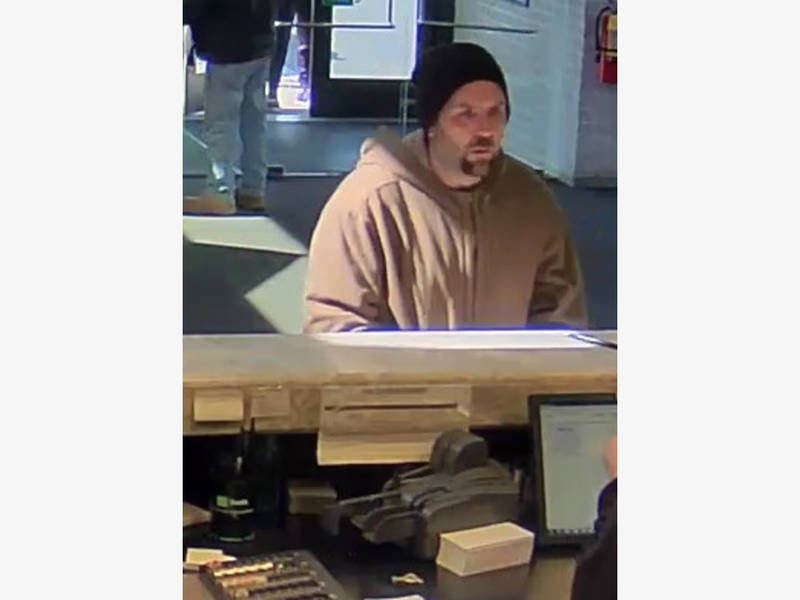 Police Searching For Camden County Bank Robber