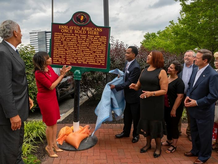Historical Slavery Marker Unveiled In Camden County