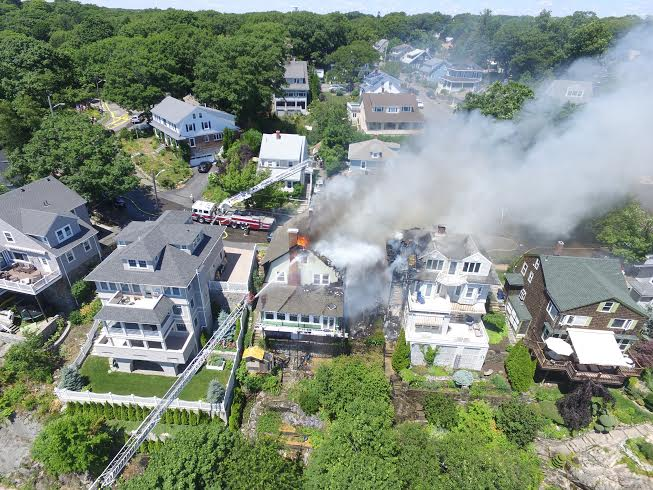 Two Houses on Fire: 5-Alarm in Swampscott | Swampscott, MA Patch